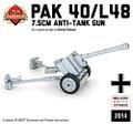 PaK 40 7.5cm Anti-Tank Gun