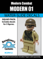 Modern Soldier 01 - Water-Slide Decals