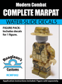 "USMC ""MarPat"" Complete Minifig Set - Water-Slide Decals"