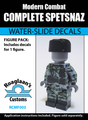 Spetsnaz Complete Minifig Set - Water-Slide Decals