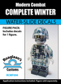 Modern Winter Soldier Complete Minifig Set - Water-Slide Decals
