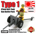 Type 1 47mm Anti-Tank Gun Battle Pack