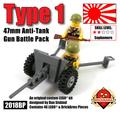 Type 1 47mm Anti-Tank Gun Battle Pack