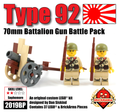 Type 92 70mm Battalion Gun Battle Pack