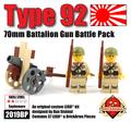 Type 92 70mm Battalion Gun Battle Pack