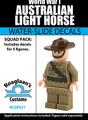 World War I Australia Light Horse Squad Pack - Water-Slide Decals