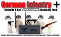 BrickArms Squad in a Box: German Infantry Pack - FIGURES NOT INCLUDED