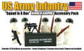 BrickArms Squad in a Box: US Infantry Pack - FIGURES NOT INCLUDED