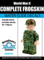 USMC Frog Skin Complete Minifig Set - Water-Slide Decals