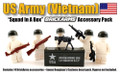 BrickArms Squad in a Box: US Infantry (Vietnam) Pack - FIGURES NOT INCLUDED