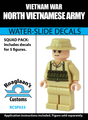 Vietnam War North Vietnamese Army - Water-Slide Decals