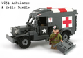 WC 54 Ambulance + US Army Medic BUNDLE