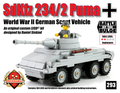 SdKfz 234/2 Puma Scout Vehicle