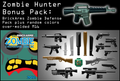 BrickArms Zombie Hunter Bonus Pack