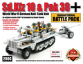 Sd.Kfz 10 & Pak 38 (WW2 German Anti-Tank Unit) Battle Pack