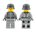 World War II German Soldier - Light Gray