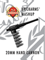 BrickArms Mashup 20mm Hand Cannon - BLACK