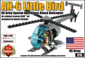 AH-6 Little Bird Gunship - FREE UPGRADE KIT!