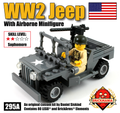 WW2 Jeep with Airborne Minifig