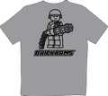 BrickArms Minigun T-Shirt