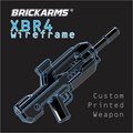 BrickArms XBR4 Wireframe