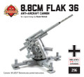 8.8cm Flak 36 Anti-Aircraft Cannon
