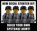 Build-Your-Own Spetsnaz Minifigure Kit