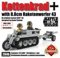 Kettenkrad with 8.8cm Raketenwerfer