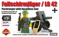 Fallschirmjäger / LG 42 - Limited Edition Figure and Gun
