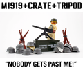 BrickArms M1919 + Printed Crate + M2 Tripod Bonus Pack