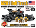 M2A1 Half Track and M1 57mm Anti-Tank Gun