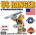 US Ranger with Unmanned Aerial Vehicle - WWB 2014 Exclusive Minikit