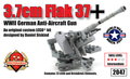 3.7cm Flak 37 Anti-Aircraft Gun - World War Brick Event Kit