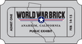 WWB Anaheim - Public Exhibit Advance Ticket