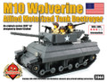 M10 Wolverine Allied Tank Destroyer - Premium Custom LEGO® Kit