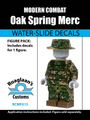 Oak Spring Camo Mercenary Complete Minifig Set - Water-Slide Decals