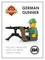 World War II German Gunner