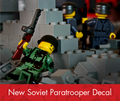 Build-Your-Own Soviet Paratrooper Minifigure Kit