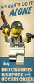 BrickArms Sergeant Evans - Limited Edition Figure