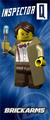 BrickArms Inspector Q - Limited Edition Figure
