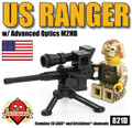 US Ranger with Advanced Optics M2HB Minikit