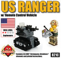 US Ranger with Remote Control Vehicle Minikit