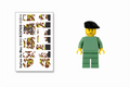 Build-Your-Own Italian Xa Mas Minifigure Kit