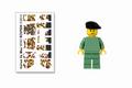 Build-Your-Own Italian Xa Mas Minifigure Kit