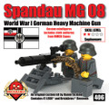 Spandau MG08 - World War I German Heavy Machine Gun