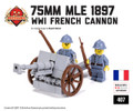 Mle 1897 75mm Field Gun