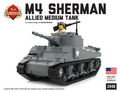 M4 Sherman - Allied Medium Tank -Custom LEGO Kit