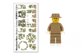 Build-Your-Own Woodland Mercenary Minifigure Kit