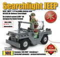Searchlight Jeep with Brickstuff Light Effects