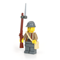 Civil War Confederate Soldier with Musket and Bayonet